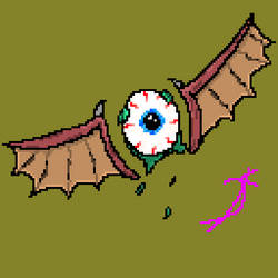 Winged Eye by SquidyPheonix