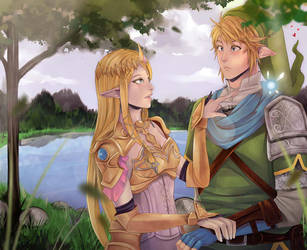 Hyrule Warriors... by chocolexii