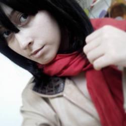 Mikasa su casa by Dokax