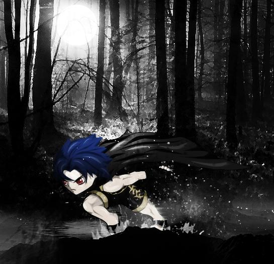 Running Shinobi by KingTaro by LordTaro