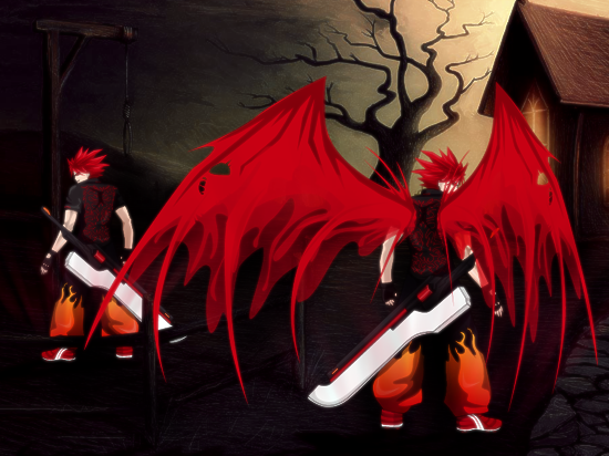 Blood Wings by LordTaro