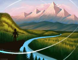 Fantasy Landscape by andrea-koupal