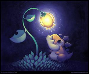 Tiny Dragon by andrea-koupal