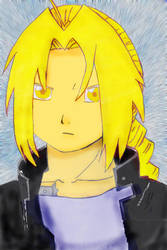 FMA - Edward Elric colored by chris3169512