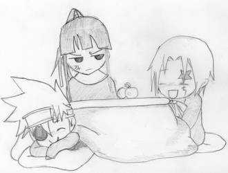 Kanda, Lavi, and Allen by chris3169512