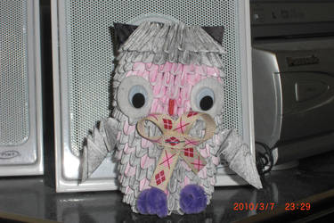 3D Origami - Owl by chris3169512