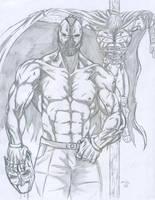 Bane and Batman by A-Train409