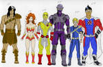 Hero Lineup by A-Train409