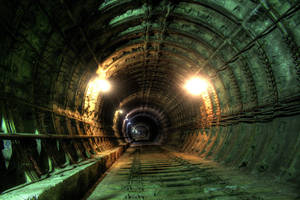 Abandoned metro tunnel 3 by Ssaash