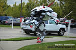 Overwatch Dva Mech Going to SLC ComicCon by GunGryphon