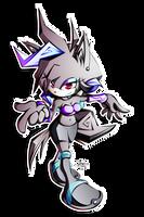 AJ the Aquice Wolf by R-no71