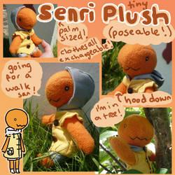 PKMNC Tiny Senri plush! by scilk