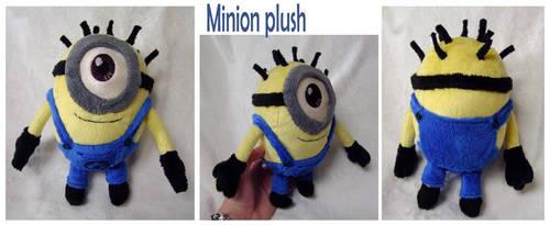 Minion Plush by scilk