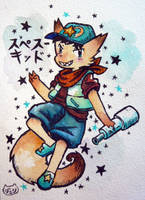 Space Fox by scilk