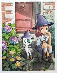 Witch and Familiar by scilk