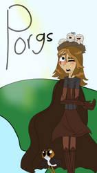 SW: A Jedi Knight with Porgs by Sweetwolf05