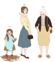 Kalyn's aging by Azeher