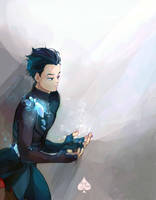 Yuuri by Azeher