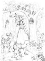 lalala sketchy sketch by SirPrinceCharming