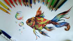 Colorful Fish by EmilyArtPoland
