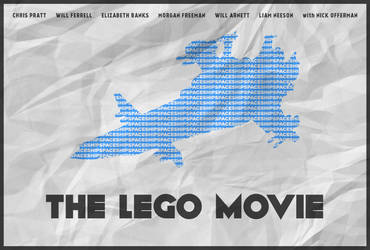SPACESHIP! - The Lego Movie Poster by edwardjmoran