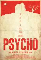 Madness - Psycho Poster by edwardjmoran