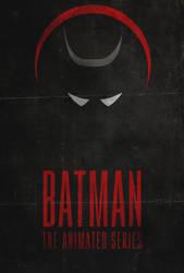 I am the Night - Batman: Animated Series Poster by edwardjmoran