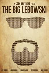 White Russian - The Big Lebowski Poster by edwardjmoran
