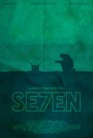 The Box - Se7en Poster by edwardjmoran