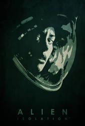 Alien: Isolation - Minimalist Poster by edwardjmoran