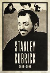 Stanley Kubrick by edwardjmoran