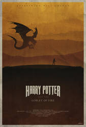 Harry Potter and the Goblet of Fire - Poster by edwardjmoran