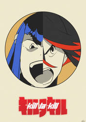 Kill La Kill - Poster by edwardjmoran