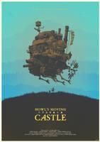 Spirit of the Demon - Howl's Moving Castle Poster by edwardjmoran
