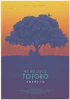 The Spirit Tree - My Neighbor Totoro Poster by edwardjmoran
