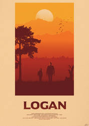 One Last Time - Logan Poster by edwardjmoran
