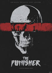 One Bad Day Away - The Punisher (Netflix) Poster by edwardjmoran