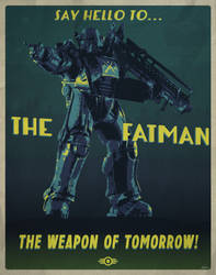 The Fat Man - Fallout 3 (Private Commission) by edwardjmoran