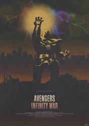 End Times - Avengers: Infinity War Poster by edwardjmoran