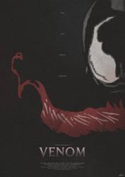 Merely Human - Venom (2018) Poster by edwardjmoran