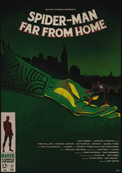 Met Your Match - Spider-Man: Far From Home Poster by edwardjmoran