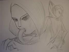 Ghirahim sketch by DNLINK