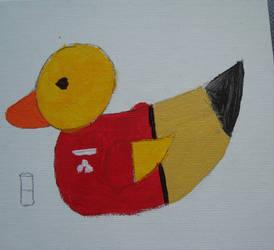 The Jake Duckie Farm by GalaxyGoddess