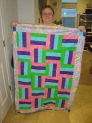 Newest quilt by GalaxyGoddess