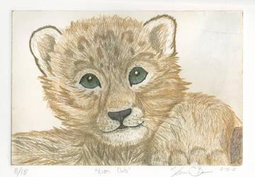 Lion Cub by ravenclawyoshi