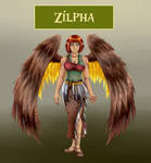 Blackmanaburning's Zilpha by Goddess-of-Gales