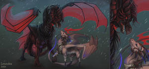 Scale Wars: Rain by Leundra