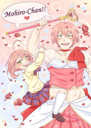 Fanart of the Month - Magical Girl Ore by indidere