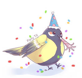 Party Tit by indidere
