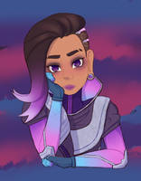 Sombra Overwatch by Tigri2707
